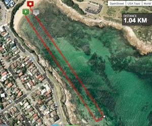 STG Swim Course 1km
